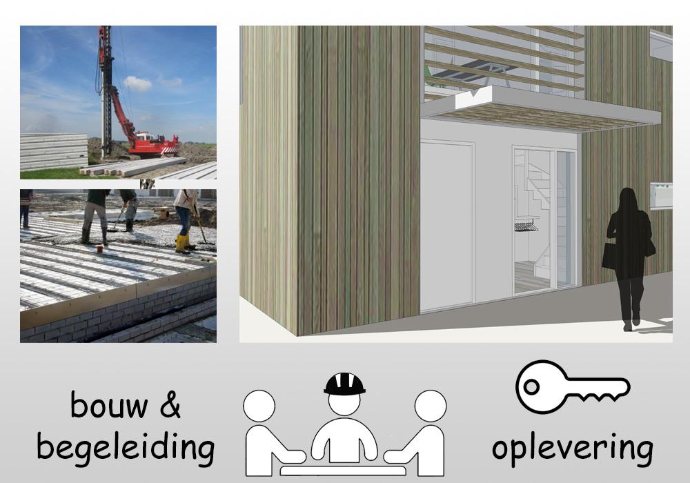 Uitvoering bouwbegeleiding oplevering