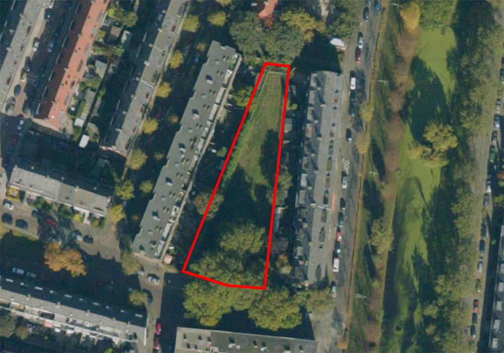 Luchtfoto locatie Struitenweg
