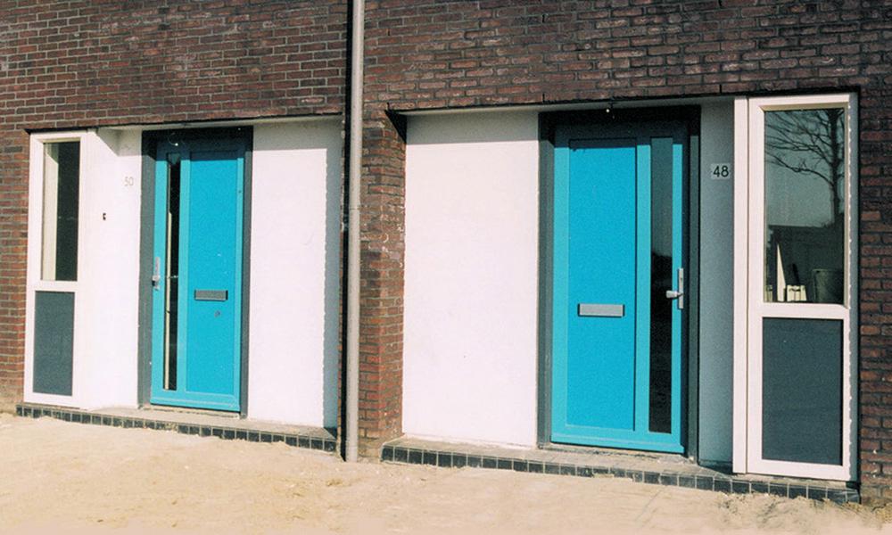 Korendijk detail voordeuren