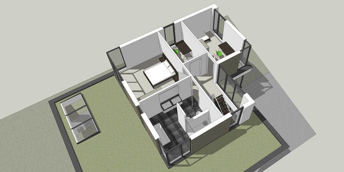 Overzicht eerste verdieping 2