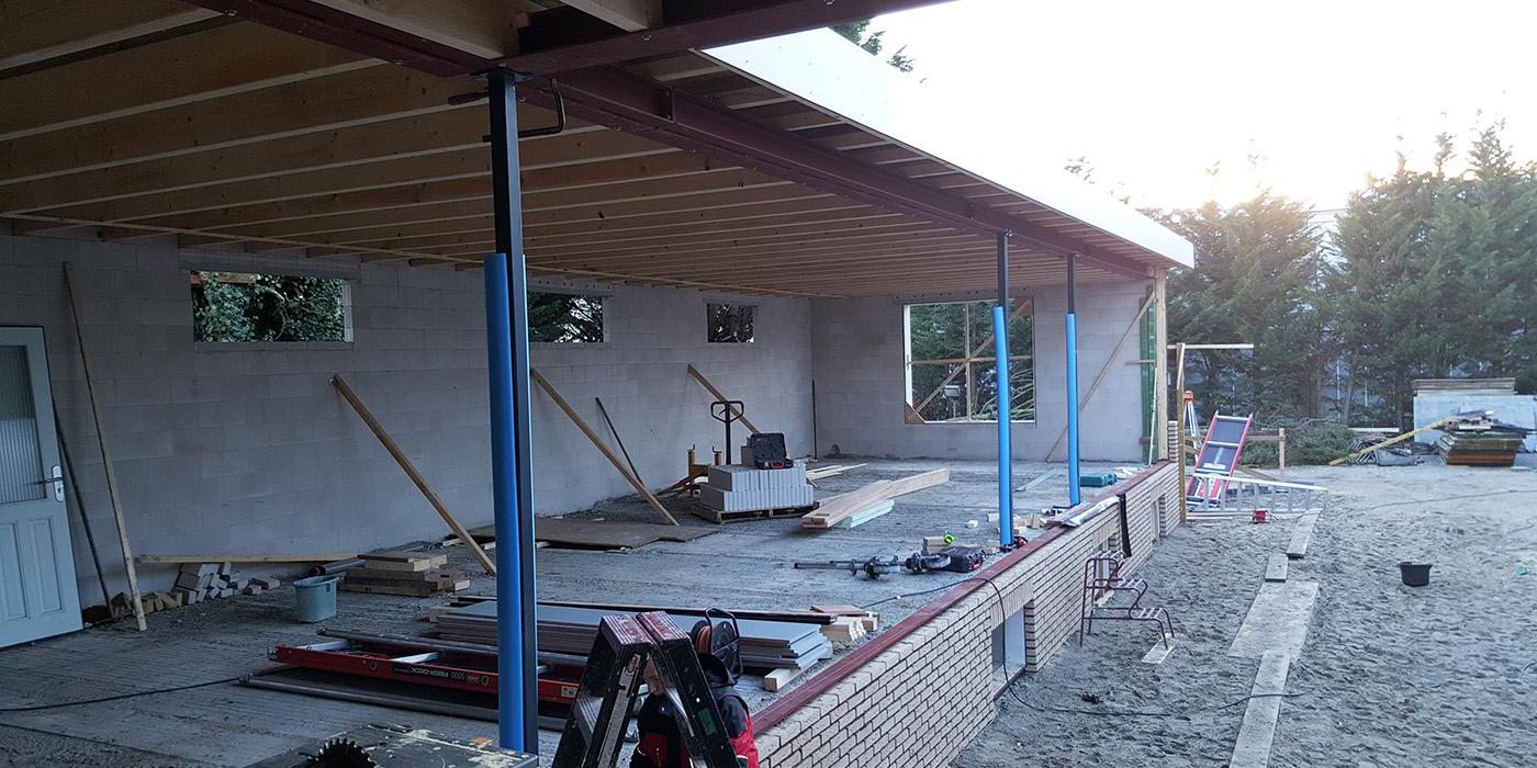 Foto's bouw nr 1