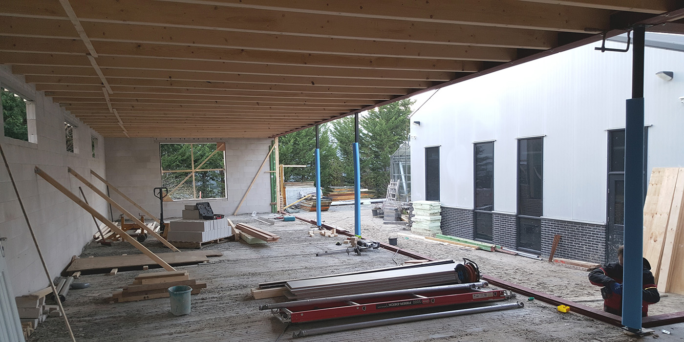 Foto's bouw nr 2