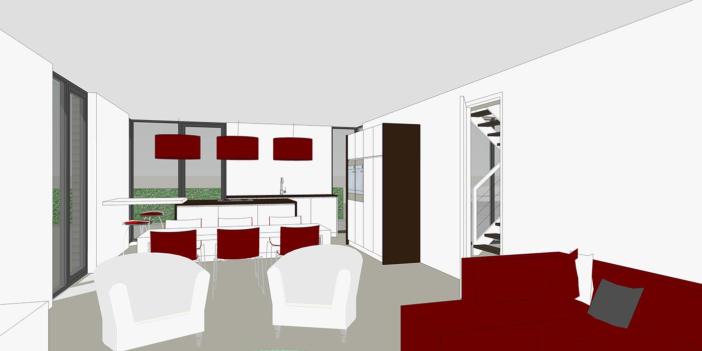 Impressie interieur woonkamer 2