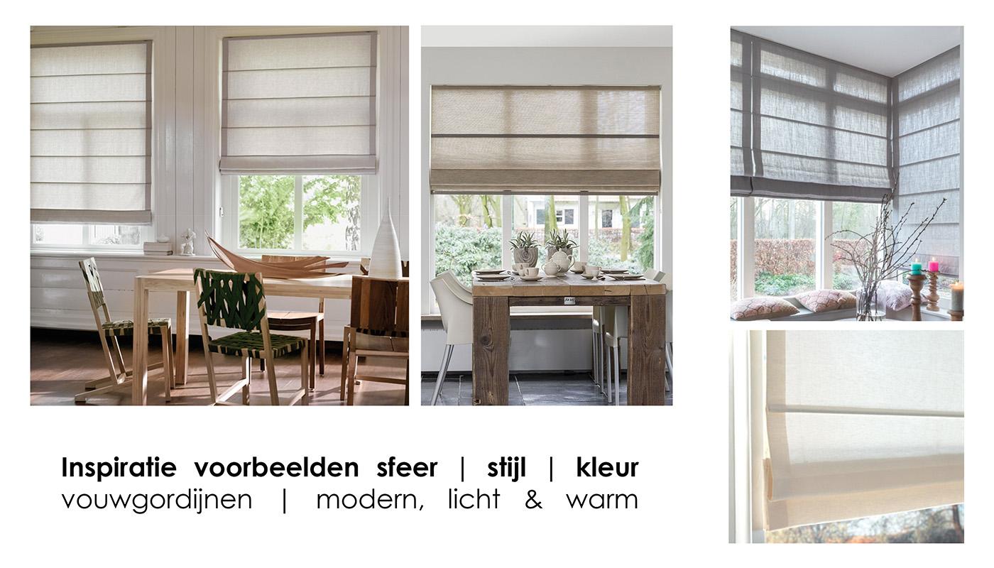 Sfeer, stijl, kleur: raambekleding
