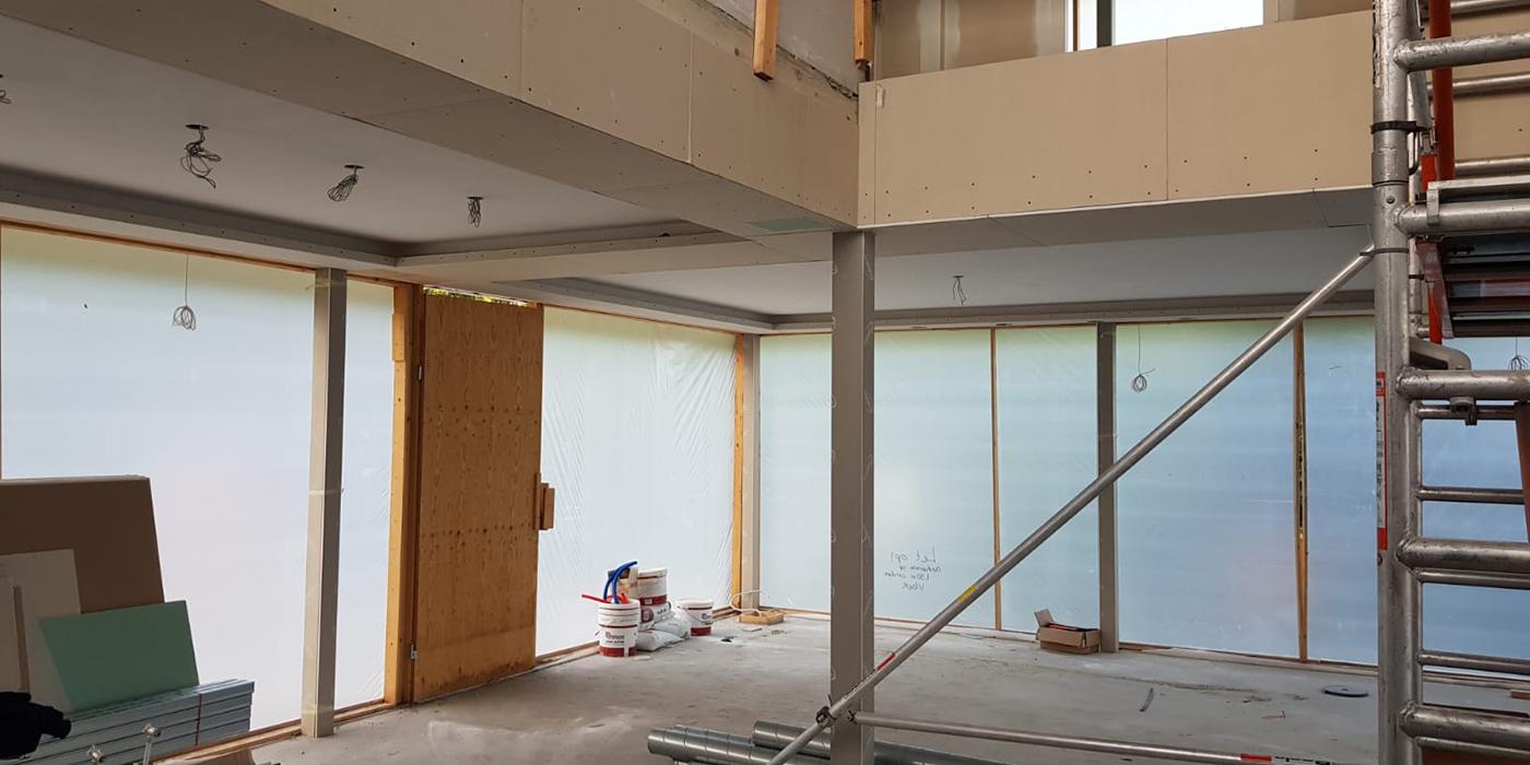 Foto bouw interieur woonkamer 1