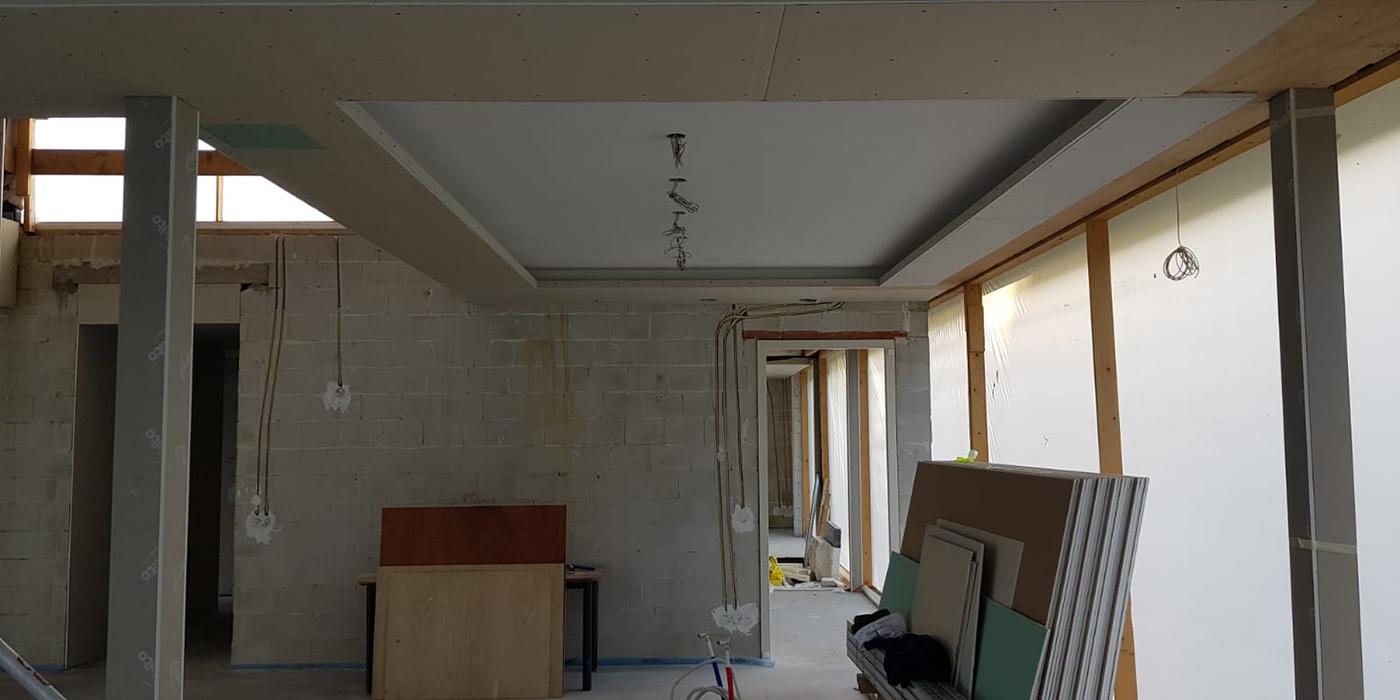 Foto bouw interieur woonkamer 2