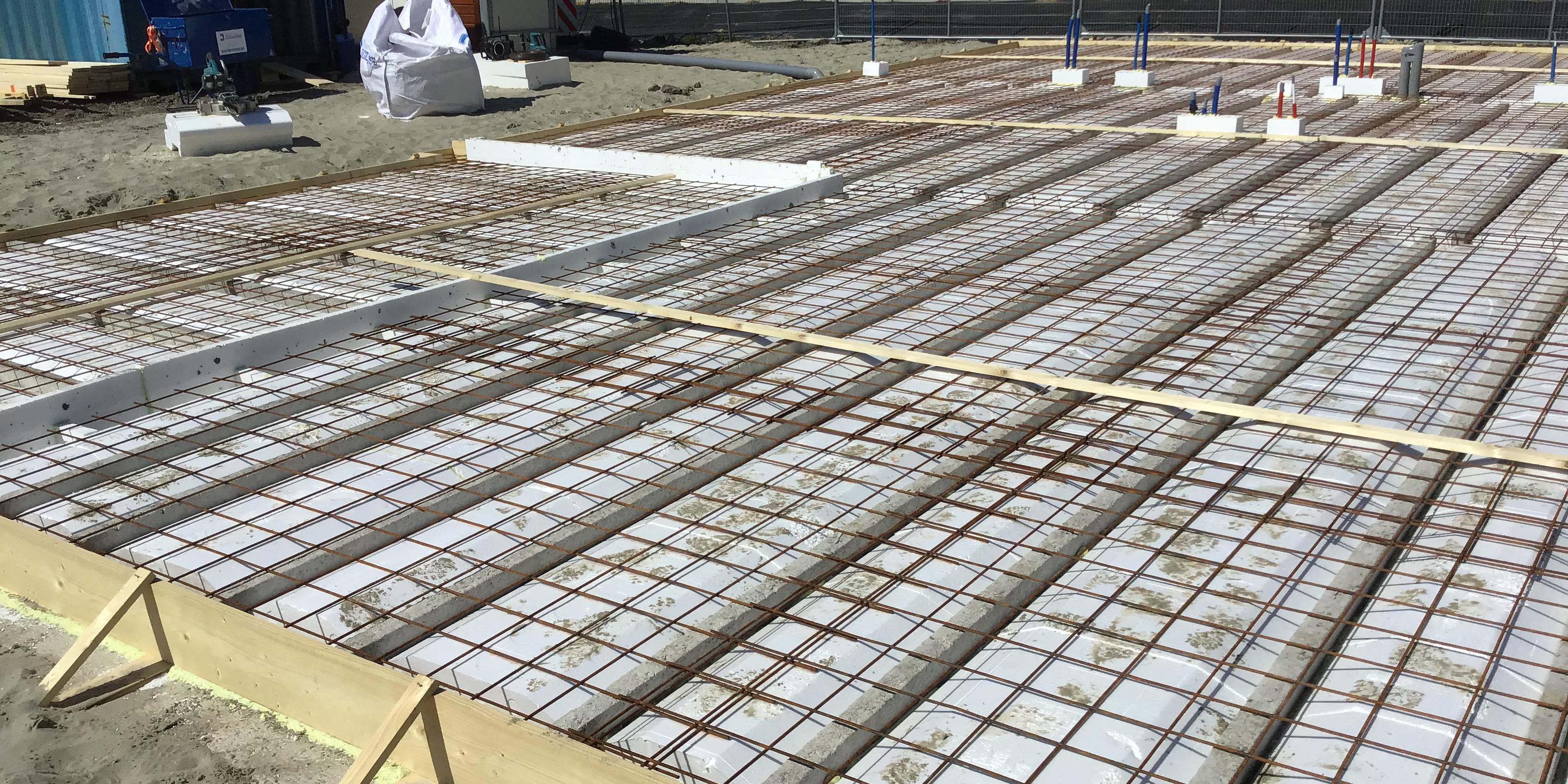 Foto's bouw - vloer begane grond