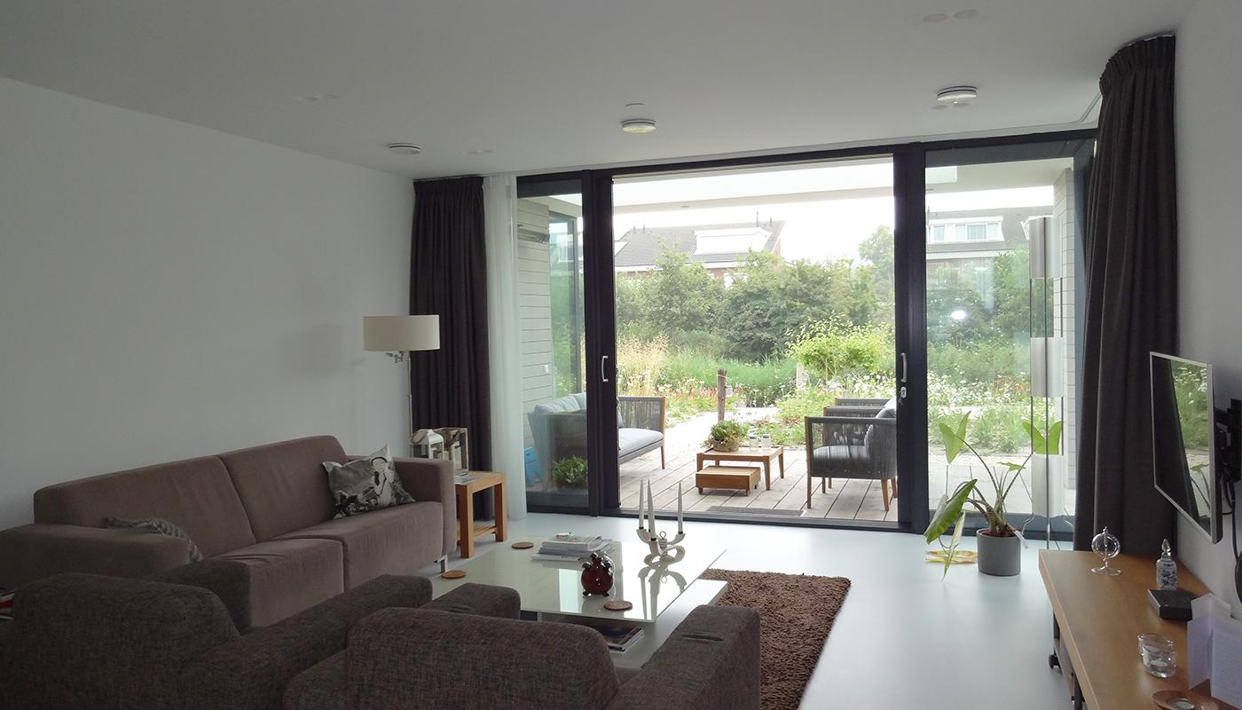 Interieur woonkamer zithoek 1