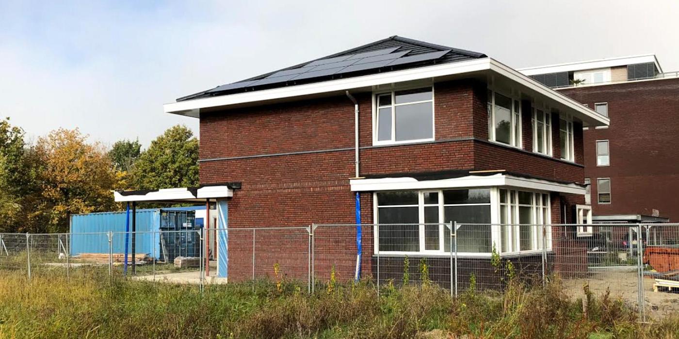 Foto's bouw - veranda in uitvoering
